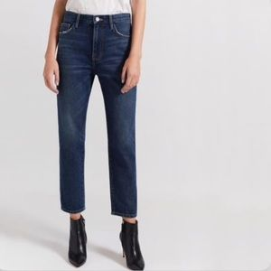 Current/Elliot The Vintage Cropped Slim Jeans